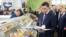 Губернатор Ямало-Ненецкого автономного округа Дмитрий Кобылкин на продовольственной выставке в Берлине
