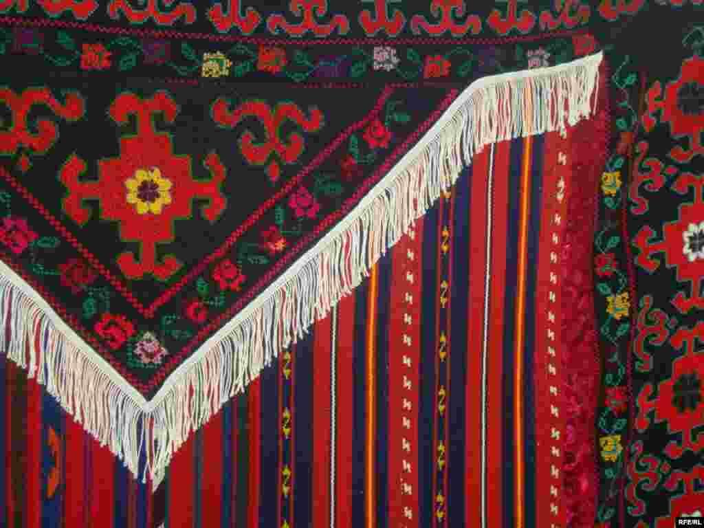 Многообразие кыргызского орнамента #9