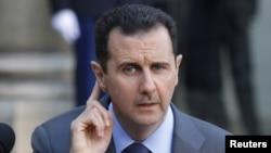 Сирия президенті Башар Асад. Париж, 9 желтоқсан 2010 жыл.