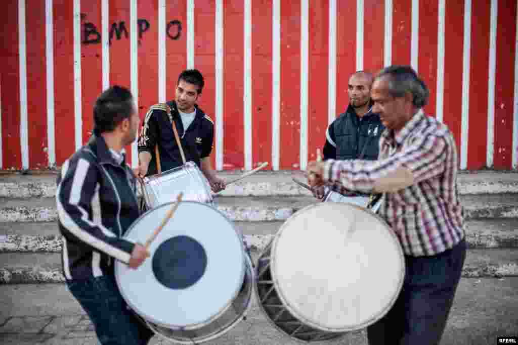 The Drummers Of Macedonia's Semka Band #24