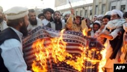 Pakistani Islamist parties frequently hold anti-American demonstrations.
