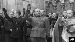 Diktatori spanjoll, Francisco Franco.