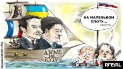 Президенти України, Франції та Росії очима художника Олексія Кустовського