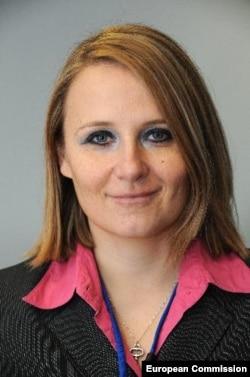 Мая Коціянчич - прес-секретар верховного представника Євросоюзу з закордонних справ