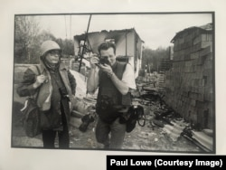 Fotografi Paul Lowe gjatë luftës në Sarajevë