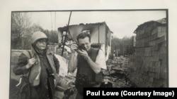 Photographer Paul Lowe covered the Bosnian War.