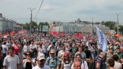 'March Of Millions' In Moscow
