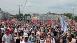 """Москва: """"Миллиондор маршы"""""""