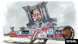Карикатура Алексея Кустовского