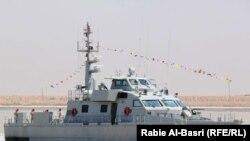 سفينة حربية عراقية