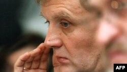 Aleksandr Litvinenko in London in 2004