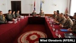 Susret delegacija Vojske Srbije i Oružanih snaga BiH
