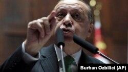 Президент Туреччини Реджеп Тайїп Ердоган