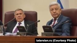 Рустам Минниханов, Фарид Мухаметшин