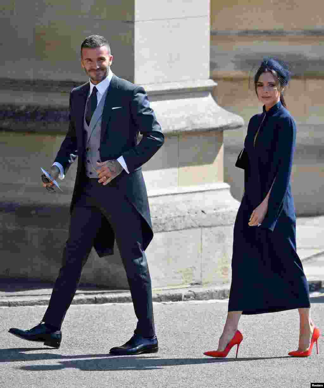 Виктория и Дэвид Бекхэм – также среди гостей