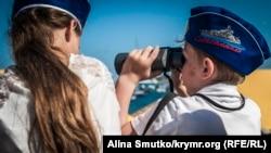 Севастополь отмечает День военно-морского флота России (фотогалерея)