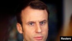 Эммануэль Макрон, кандидат на президентских выборах во Франции.