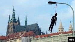Чехия президенти расмий қароргоҳи Прага қасрида жойлашган.
