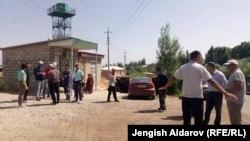 Қырғызстан мен Тәжікстан шекарасында болған жанжалдан кейінгі сәт. 5 маусым 2018 жыл.