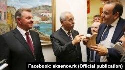 Архивное фото: итальянская делегация в Крыму, 13 мая 2016 года