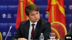 Министерот за информатичко општество и администрација, Иво Ивановски.