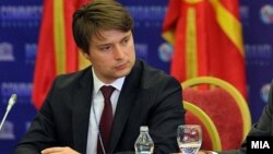 Иво Ивановски, министер за информатичко општество и администрација.