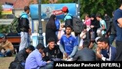 Izbeglice u Beogradu