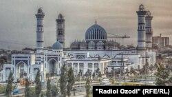 В Таджикистане строится самая большая в регионе мечеть