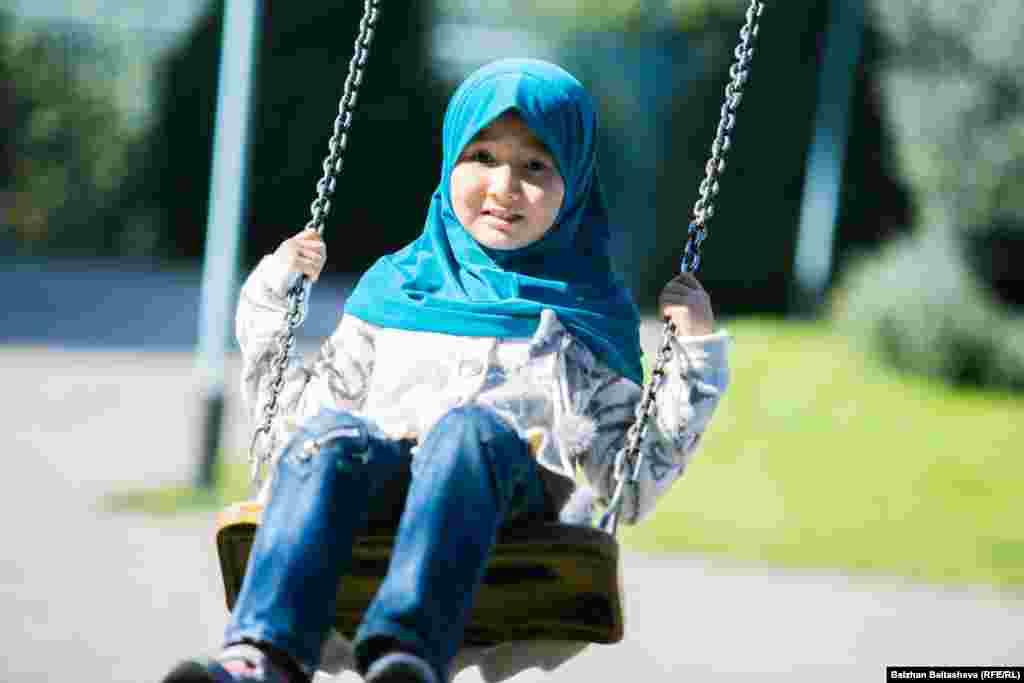 Многие дети рады Курбан айту и выходному дню