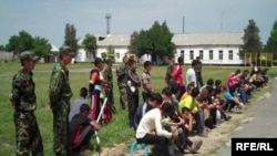 Вознесеновка абагындагы балдар, 1-июнь, 2010-жыл.