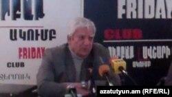 «ԱլՌուբ» ընկերության տնօրեն Ալիկ Աբրահամյանը: