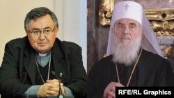 Kardinal Vinko Puljić i patrijarh Irinej