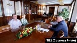 Губернатор Сергей Жвачкин встретился с Натальей Журовой