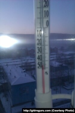 Зима в Тынде
