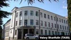 Здание парламента Южной Осетии. Архивное фото