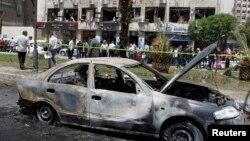 Сирия астанасы Дамаск қаласы. 30 сәуір 2013 жыл.