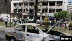 Ratna razaranja u Damasku