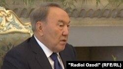 Президент Казахстана Нурсултан Назарбаев. Иллюстративное фото.