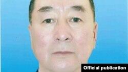 ӨКМдин кызматкери Анварбек Иманбаев 30-июнда каза болду. Сүрөт ӨКМге таандык.