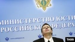 Министр юстиции России Александр Коновалов