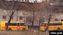 Рятувальні роботи на шахті «Черкаська», с. Зимогір'я, непідконтрольна територія Луганської області (скрін з телеканалу, контрольованого угрупованням «ЛНР»)