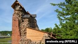 Княская вежа пад часовым дахам
