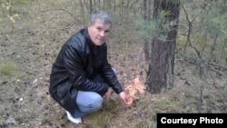 Ақмола облысы Калачи ауылының бұрынғы тұрғыны Александр Павлюченко. Жеке мұрағаттағы сурет.