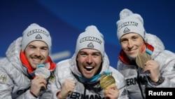 Шаңғы қоссайысынан Пхенчхан олимпиадасында алғашқы үш орынды да Германия спортшылары иеленді.