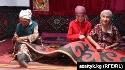 Мургабда жашаган памирлик кыргыздар