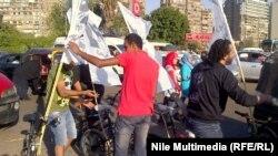 من مظاهرات الجمعة 26نيسان في القاهرة