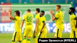Despite significant investment in players, Anzhi Makhachkala rarely gets more than a few thousand fans at its home games. (file photo)