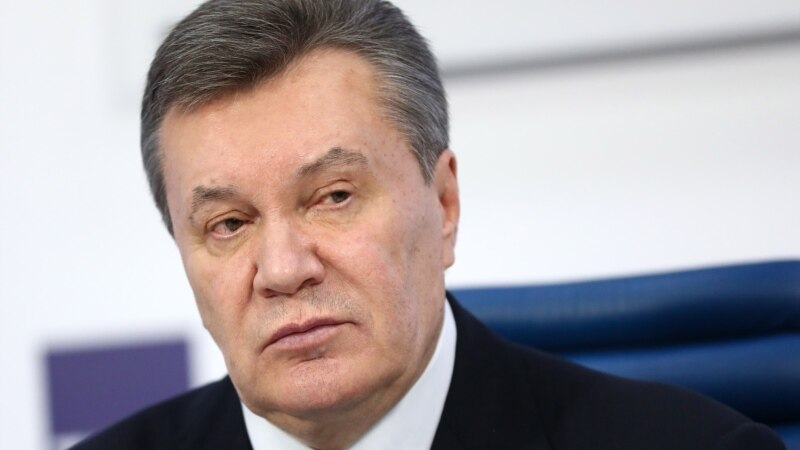Ukrainian Ex-President Yanukovych Reportedly Injured, Treated At Moscow Hospital