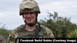 Сергій Собко, комбриг 128-ї ОГПБр, околиця Торецька, Донбас, 2017 рік