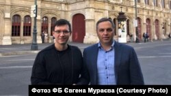 За часів Януковича Андрій Портнов (праворуч) очолював Головне управління з питань судоустрою Адміністрації Президента, а згодом був заступником в АП